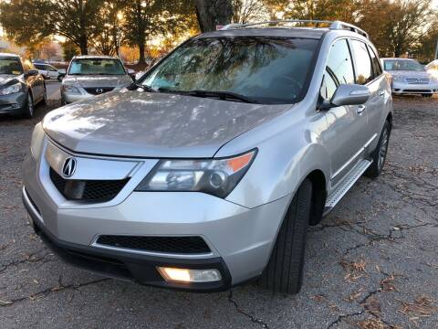 2010 Acura MDX for sale at Atlantic Auto Sales in Garner NC