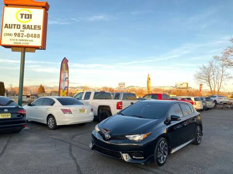2017 Toyota Corolla iM for sale at TDI AUTO SALES in Boise ID