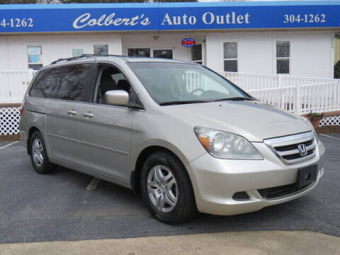 2007 Honda Odyssey for sale at Colbert's Auto Outlet in Hickory NC