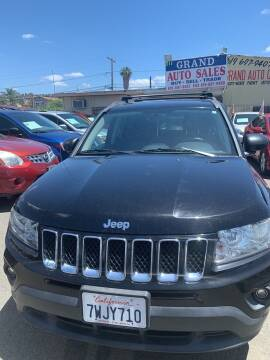 2013 Jeep Compass for sale at GRAND AUTO SALES - CALL or TEXT us at 619-503-3657 in Spring Valley CA