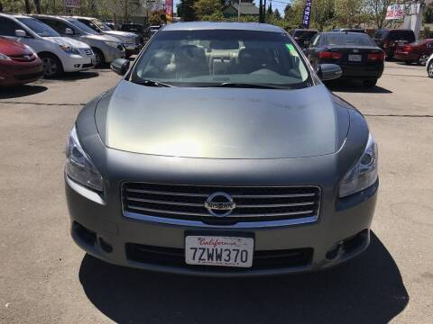 2009 Nissan Maxima for sale at EXPRESS CREDIT MOTORS in San Jose CA