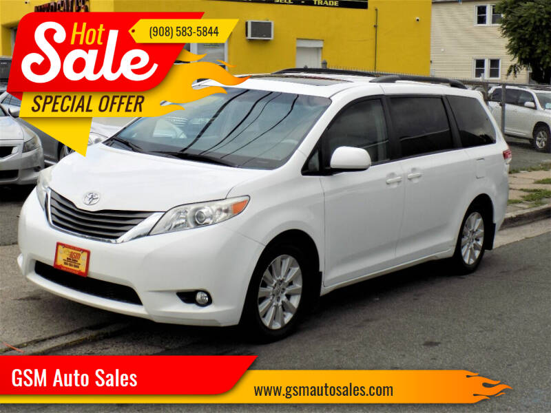 2011 Toyota Sienna for sale at GSM Auto Sales in Linden NJ