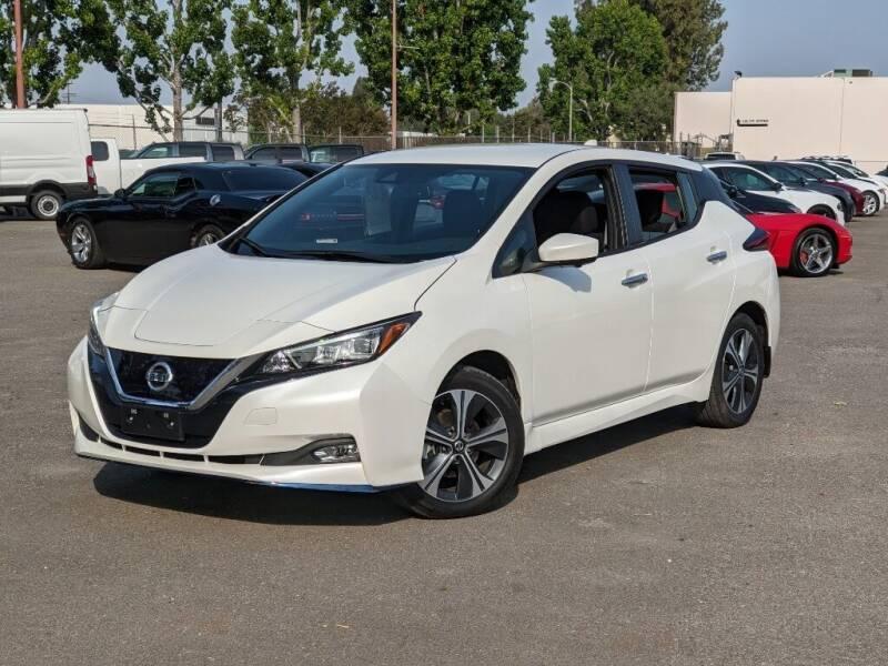 2020 Nissan LEAF for sale in Van Nuys, CA