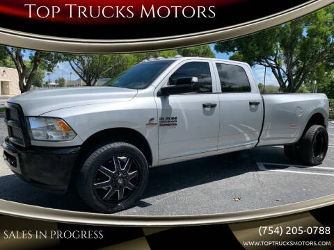2018 RAM Ram Pickup 3500 for sale at Top Trucks Motors in Pompano Beach FL