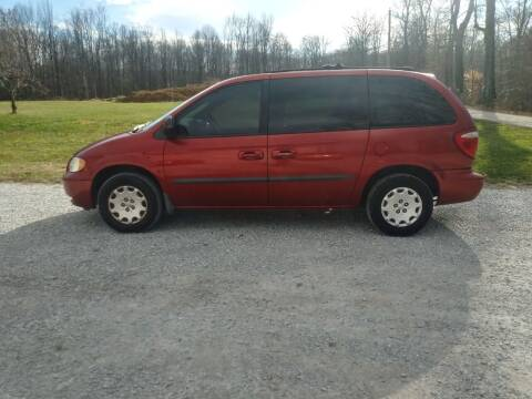 2004 Chrysler Town and Country for sale at Doyle's Auto Sales and Service in North Vernon IN