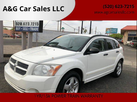 2007 Dodge Caliber for sale at A&G Car Sales  LLC in Tucson AZ