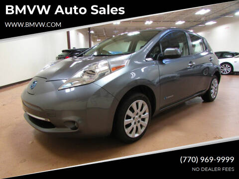 2015 Nissan LEAF for sale at BMVW Auto Sales in Union City GA