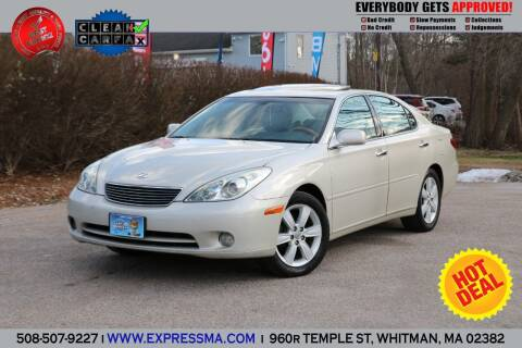 2005 Lexus ES 330 for sale at Auto Sales Express in Whitman MA
