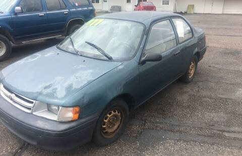 1994 Toyota Tercel for sale at Major Motors in Twin Falls ID