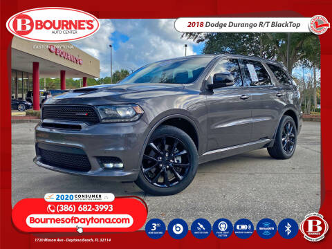 2018 Dodge Durango for sale at Bourne's Auto Center in Daytona Beach FL