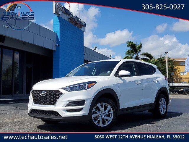 2019 Hyundai Tucson for sale at Tech Auto Sales in Hialeah FL