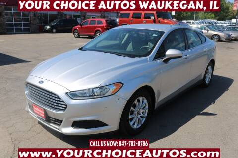 2016 Ford Fusion for sale at Your Choice Autos - Waukegan in Waukegan IL