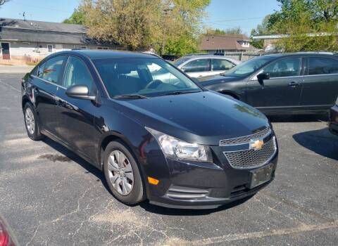 2012 Chevrolet Cruze for sale at I Car Motors in Joliet IL