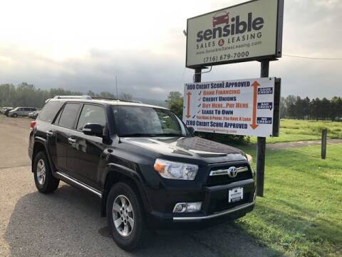 2013 Toyota 4Runner for sale at Sensible Sales & Leasing in Fredonia NY