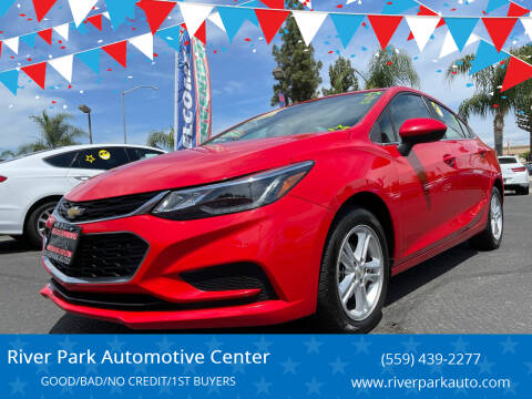 2017 Chevrolet Cruze for sale at River Park Automotive Center in Fresno CA