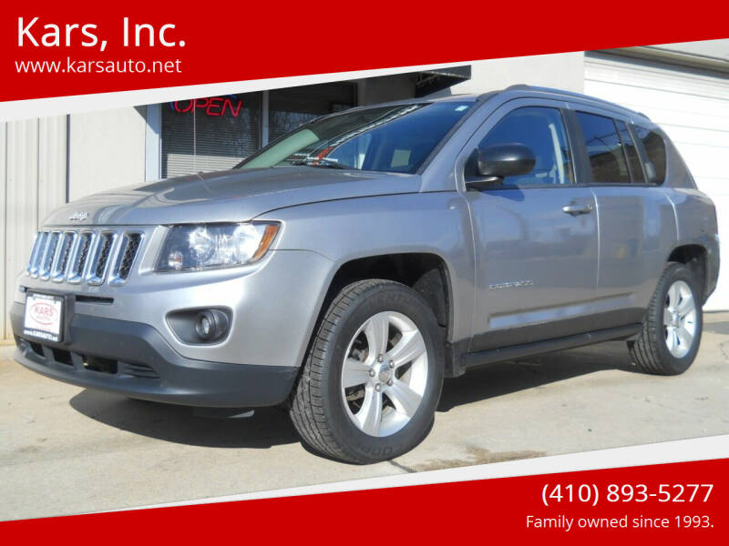 2014 Jeep Compass for sale at Kars, Inc. in Fallston MD