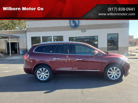 2015 Buick Enclave for sale at Wilborn Motor Co in Fort Worth TX