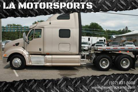 2008 Peterbilt 387 for sale at LA MOTORSPORTS in Windom MN