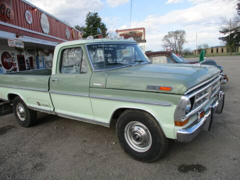 1971 Ford F-250 for sale at Marshall Motors Classics in Jackson Michigan MI
