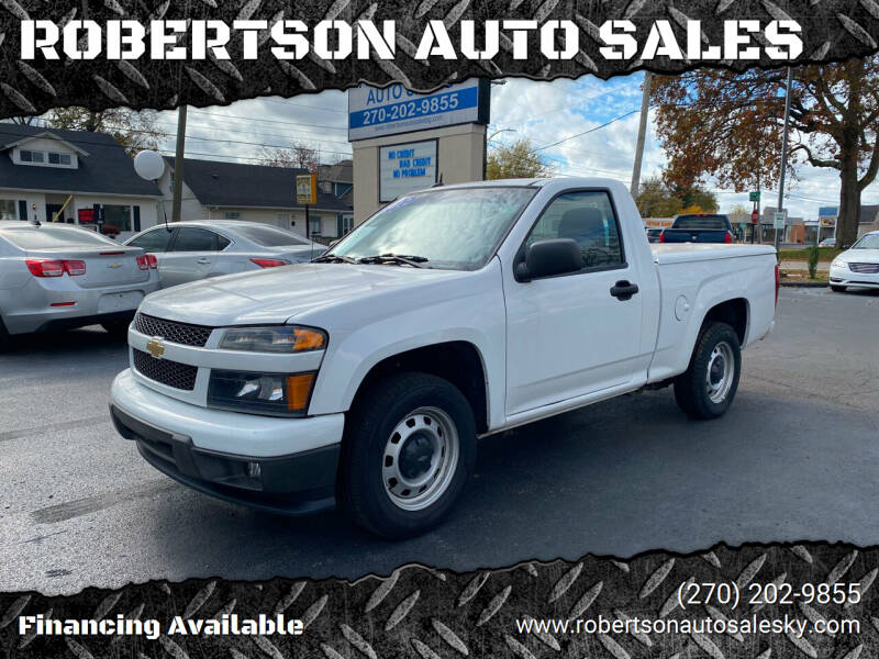 2012 Chevrolet Colorado for sale at ROBERTSON AUTO SALES in Bowling Green KY