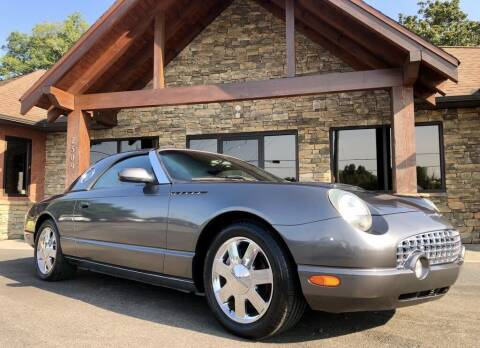 2003 Ford Thunderbird for sale at Auto Solutions in Maryville TN