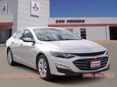 2019 Chevrolet Malibu for sale at DON HERRING MITSUBISHI in Irving TX