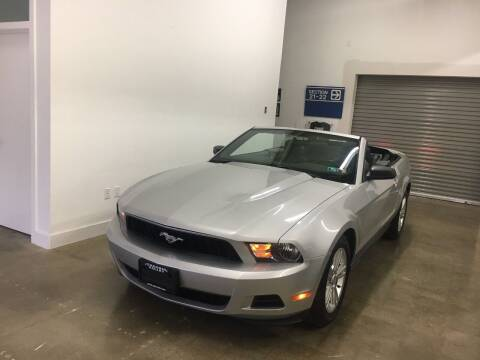2010 Ford Mustang for sale at CHAGRIN VALLEY AUTO BROKERS INC in Cleveland OH