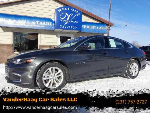 2017 Chevrolet Malibu for sale at VanderHaag Car Sales LLC in Scottville MI