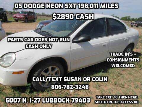 2005 Dodge Neon for sale at West Texas Consignment in Lubbock TX