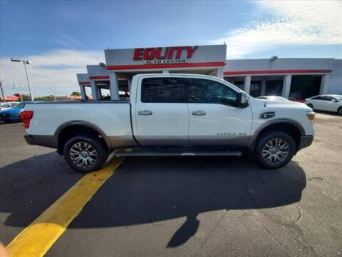 2016 Nissan Titan XD for sale at EQUITY AUTO CENTER in Phoenix AZ