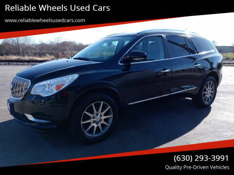 2014 Buick Enclave for sale at Reliable Wheels Used Cars in West Chicago IL