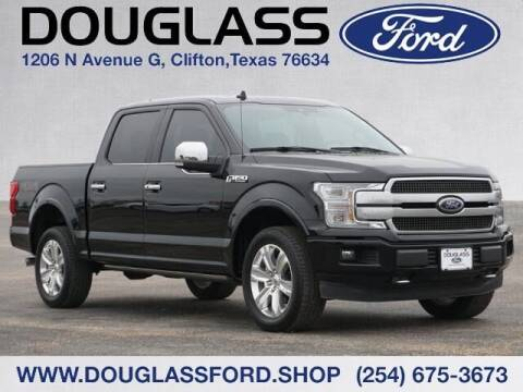 2020 Ford F-150 for sale at Douglass Automotive Group - Douglas Ford in Clifton TX