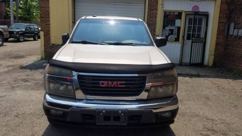 2004 GMC Canyon for sale at 216 Automotive Group in Cleveland OH