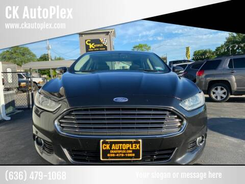 2014 Ford Fusion for sale at CK AutoPlex in Crystal City MO