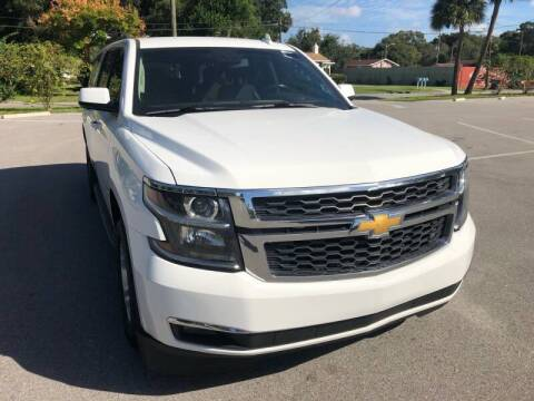 2018 Chevrolet Suburban for sale at LUXURY AUTO MALL in Tampa FL