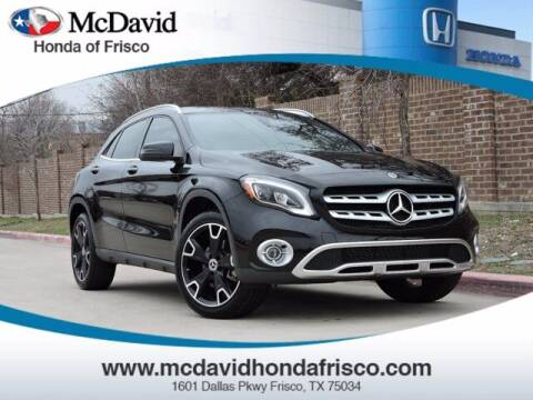 2020 Mercedes-Benz GLA for sale at DAVID McDAVID HONDA OF IRVING in Irving TX