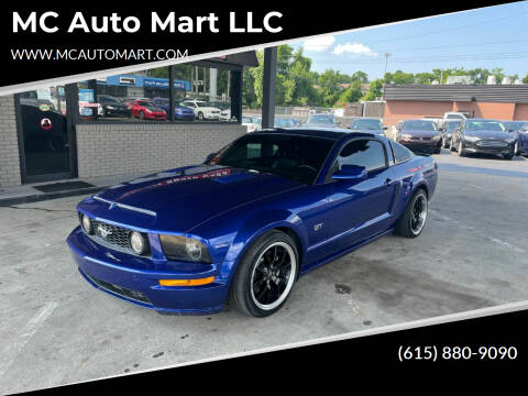 2005 Ford Mustang for sale at MC Auto Mart LLC in Hermitage TN