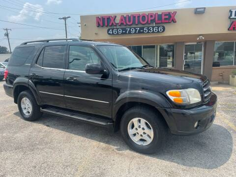 2001 Toyota Sequoia for sale at NTX Autoplex in Garland TX