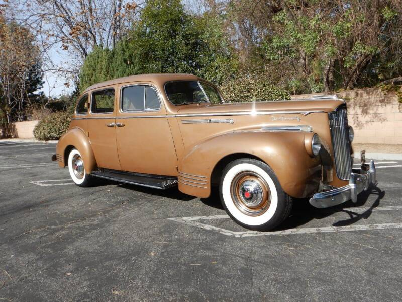 1941 Packard 120 Sedan for sale at California Cadillac & Collectibles in Los Angeles CA