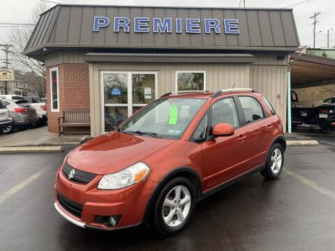 2007 Suzuki SX4 Crossover for sale at Premiere Auto Sales in Washington PA