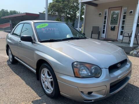 2005 Subaru Impreza for sale at G & G Auto Sales in Steubenville OH