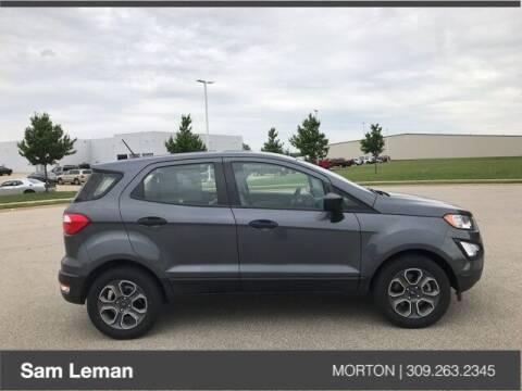2019 Ford EcoSport for sale at Sam Leman CDJRF Morton in Morton IL