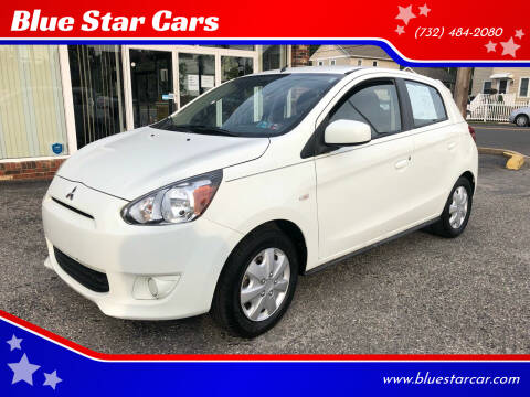 2014 Mitsubishi Mirage for sale at Blue Star Cars in Jamesburg NJ