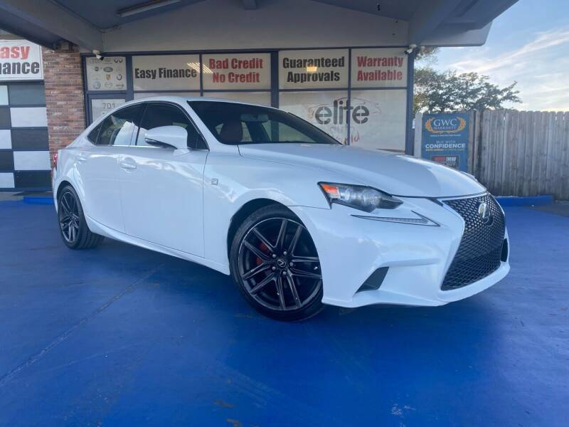 2015 Lexus IS 250 for sale at ELITE AUTO WORLD in Fort Lauderdale FL