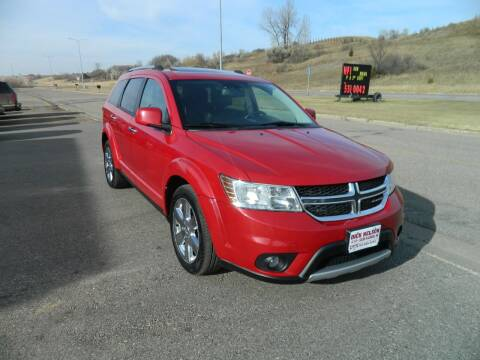 2012 Dodge Journey for sale at Dick Nelson Sales & Leasing in Valley City ND