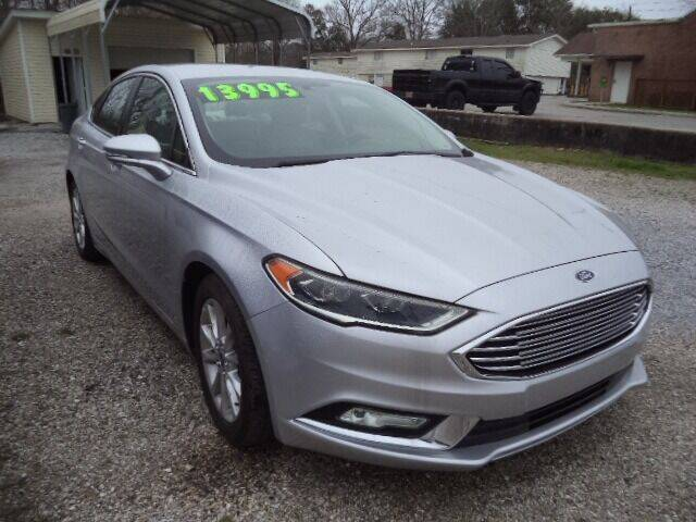 2017 Ford Fusion for sale at PICAYUNE AUTO SALES in Picayune MS
