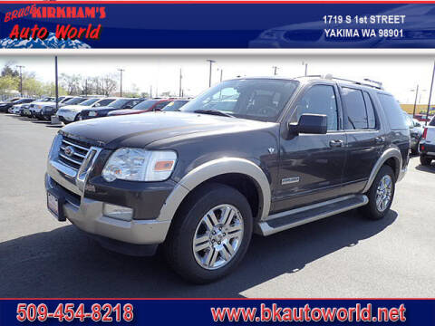 2007 Ford Explorer for sale at Bruce Kirkham Auto World in Yakima WA