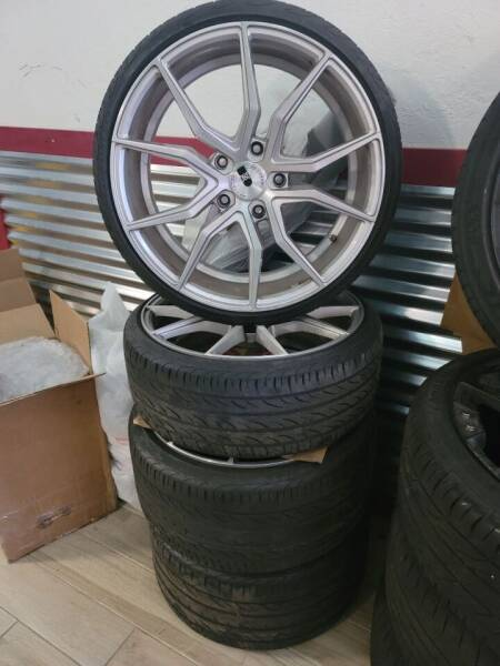 """Porsche Wheels 20"""" Staggered Wheels And Tires for sale at WICKED NICE CAAAZ in Cape Coral FL"""
