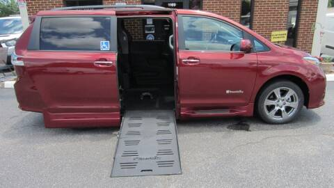 2017 Toyota Sienna for sale at Vans Of Great Bridge in Chesapeake VA