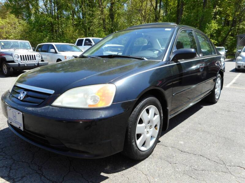 2002 Honda Civic for sale at Super Sports & Imports in Jonesville NC